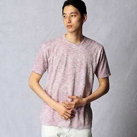 <ARTISAN MEN> スプレーバックTシャツ(5942TF06) ワイン【三越・伊勢丹/公式】