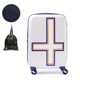 ギャレリアイノベーター スーツケース innovator キャリーケース 機内持ち込み 旅行 INV48T (Sサイズ 38L 1~3日)ユニセックスホワイトトリコF【GALLERIA】