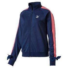 【プーマ公式通販】 プーマ BOW トラックジャケット ウィメンズ Sargasso Sea  CLOTHING PUMA.com