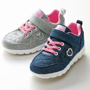 【格安-子供用靴】(エアロップ)ガールズ超軽量スニーカー
