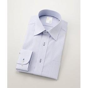 【SALE(三越)】<イムズ/IMZ> 形態安定/長袖ワイシャツ(ZMD111-350) 350・ブルー 【三越・伊勢丹/公式】