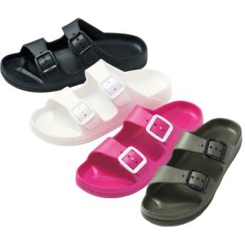 【格安-女性靴】レディース軽量ベルト付EVAコンフォートサンダル