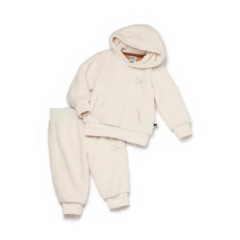 【プーマ公式通販】 プーマ キッズ PUMA x tinycottons CLASSIC SHERPA SUIT ユニセックス Whisper White  GIRLS PUMA.com