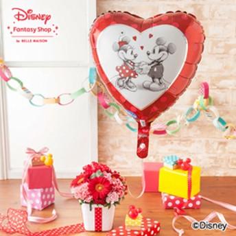 【ディズニーのフラワーギフト】アレンジメント「ぷわぷわバルーン=仲良しミッキー&ミニー=」