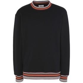 《セール開催中》WOOD WOOD メンズ スウェットシャツ ブラック M ポリエステル 56% / コットン 44%