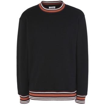 《期間限定セール開催中!》WOOD WOOD メンズ スウェットシャツ ブラック M ポリエステル 56% / コットン 44%