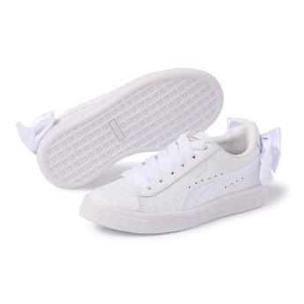 【プーマ公式通販】 プーマ バスケット BOW AC PS ウィメンズ Puma White-Puma White  BOYS PUMA.com
