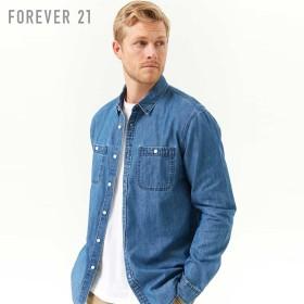 forever21 フォーエバー21 men シャンブレーシャツ 5 000円以上