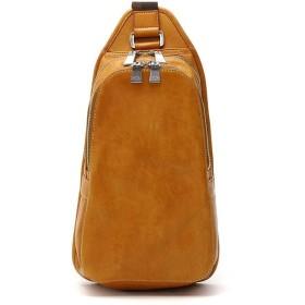 ギャレリア アニアリ aniary Antique Leather アンティークレザー ボディバッグ 01 07004 ユニセックス キャメル F 【GALLERIA】