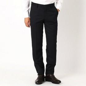 <COMME CA ISM (メンズ)> 《セットアップ》ウールギャバ スーツパンツ(4701FI01) ブラック 【三越・伊勢丹/公式】