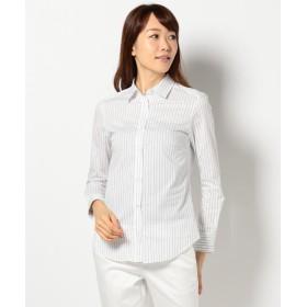 ICB CottonShirting シャツブラウス レディース ネイビー系1 6 【ICB】