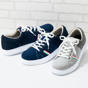 【格安-男性靴】メンズ軽量スウェット素材カジュアルシューズ