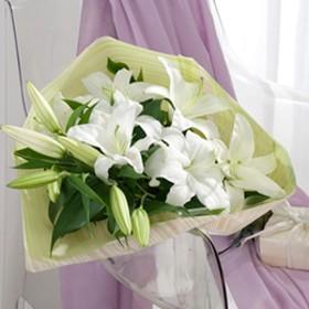 花束「デラックスリリー」