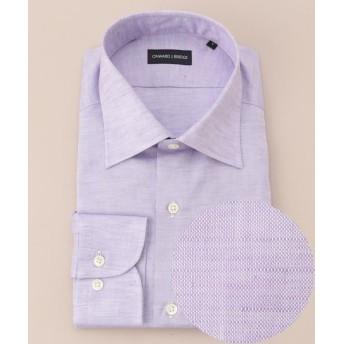 【40%OFF】 エンタージー コットンリネンシャツ メンズ パープル系 XL 【enter G】 【セール開催中】