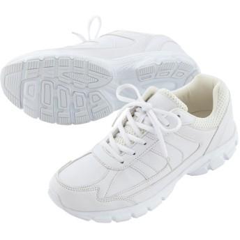 【格安-子供用靴】防水ホワイトスニーカー