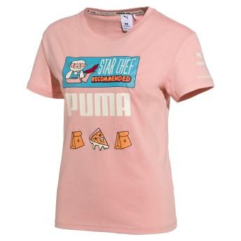 【プーマ公式通販】 プーマ PUMA x TYAKASHA TEE ウィメンズ Peach Beige  CLOTHING PUMA.com