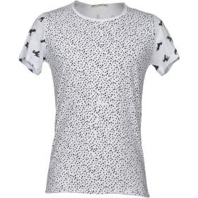 《期間限定セール開催中!》NEILL KATTER メンズ T シャツ ホワイト S コットン 100%