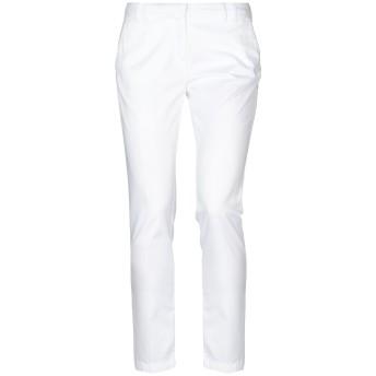《セール開催中》ELEVENTY レディース パンツ ホワイト 25 コットン 96% / ポリウレタン 4%