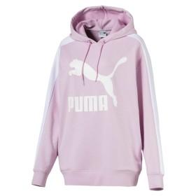 【プーマ公式通販】 プーマ CLASSICS T7 ロゴ フーディ ウィメンズ Winsome Orchid |CLOTHING|PUMA.com