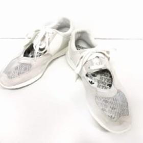 new products 24469 a8c95 ハイク HYKE スニーカー 25 レディース 美品 白 メッシュ adidas originals by HYKE スエード×化学繊維 中古  通販  LINEポイント最大1.0%GET   LINE ...