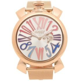 【返品OK】 ガガミラノ 腕時計 メンズ GAGA MILANO 5081.1-NEW シルバー ピンクゴールド マルチカラー