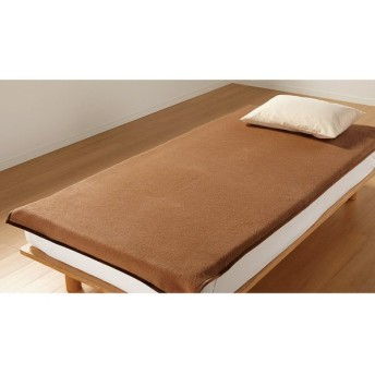 毛布、ブランケット セミダブル (ウォッシャブルキャメル敷き毛布) 624047