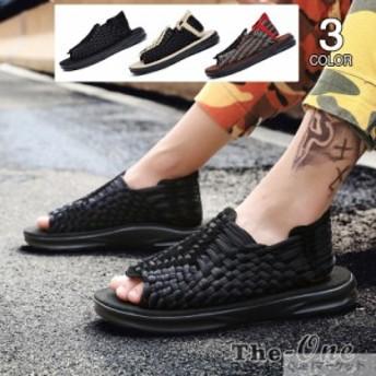 コンフォートサンダル メンズ サンダル 靴 涼しい 厚底 歩きやすい 厚底サンダル スポーツサンダル 夏物 メンズシューズ