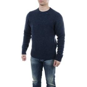 【送料無料!】バーバリー 4056327 ネイビー サイズ L メンズ クルーネックセーター 【BURBERRY NV】