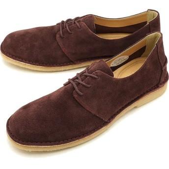 フットスタイル FOOT STYLE メンズ スエード カジュアルレザーシューズ 靴WINE SUEDE FS-3338M FW18