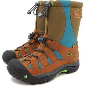 キーン ウィンターポート ツー プレミアム スノーブーツ KEEN WOMEN Winterport II Premium Yukiita Brown 靴 1015647 FW16