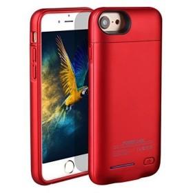 da81c19239 モバイルバッテリー バッテリー内蔵ケース COOLEAD iPhone6plus/6splus/7plus兼用 予備バッテリーケース 軽量