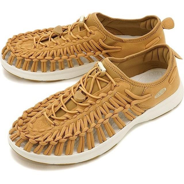 キーン ユニーク O2 サンダル 靴 メンズ KEEN UNEEK O2 MNS Tan/White 1017053 SS17