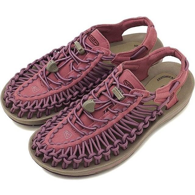 キーン KEEN レディース ユニーク WOMEN UNEEK サンダル スニーカー 靴 Tulipwood/Winetasting 1019939 FW18