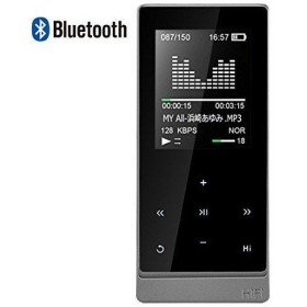デジタルオーディオプレーヤー MP3プレーヤー HIFI超高音質 Bluetooth対応 XIAOWU デジタルオーディオプレーヤー 光るタッチボタン 超軽量 無損音質 8GB内