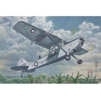 1/48 L-19/O-1バードドッグ小型連絡機 プラモデル[ローデン]《在庫切れ》