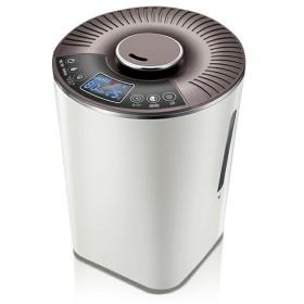 加湿器 ハイブリッド式 スチーム式 / 大容量 卓上 オフィス アロマ おしゃれ 手入れ簡単 KSB-MX401WH maxzen
