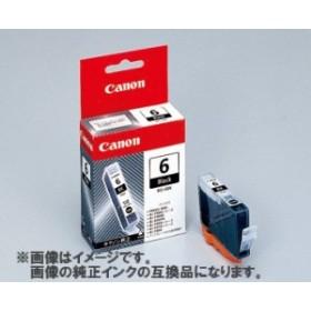 [互換インク]Canon インクカートリッジ BCI-6BK 互換インク ブラック[定形外郵便、送料無料、代引不可]