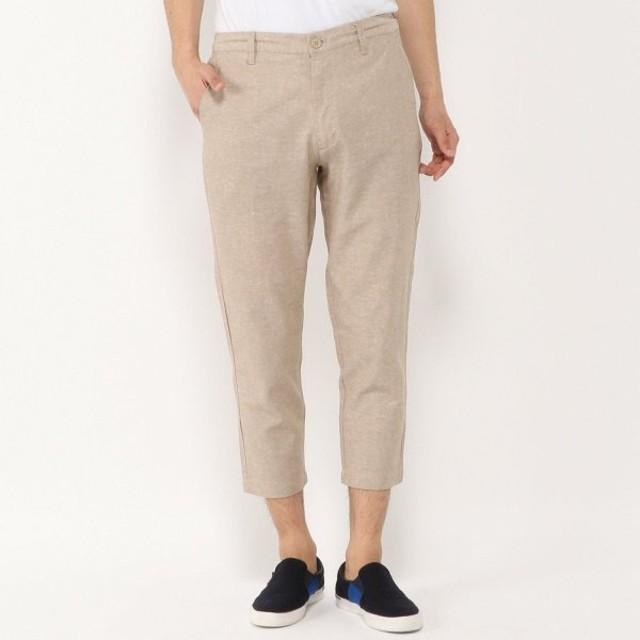 パンツ メンズ ズボン メンズ 制菌・防臭プレミアムナノテックリネン混クライミングパンツ 「ベージュ」