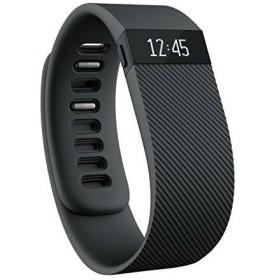 スマートウォッチ本体 Fitbit フィットビット フィットネスリストバンド Charge 歩数 運動 睡眠 健康管理 活動量計 アクティブトラッカー Black ブラッ