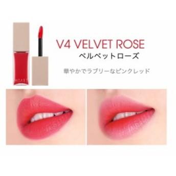 モアート ベルベット ティント【#V4】 #VELVET ROSE 1PC【W_30】