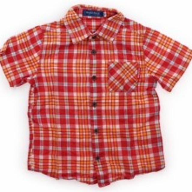 104fc34b1410b べべ BeBe シャツ・ブラウス 110サイズ 男の子 USED子供服・ベビー服 ...