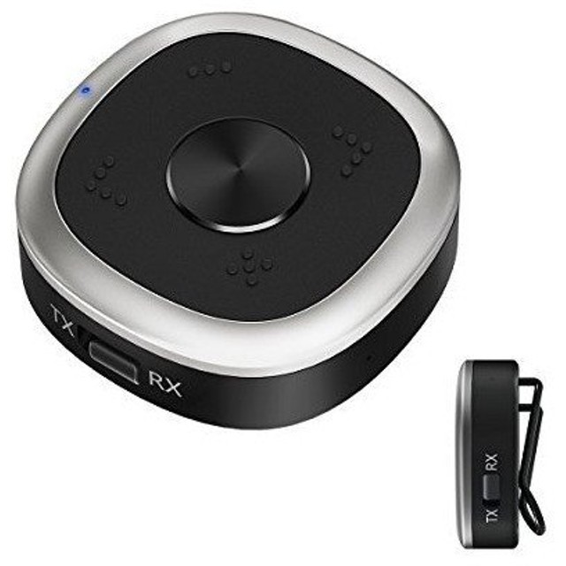 9abe74b636 ポータブルオーディオアクセサリー HiGoing Bluetooth 4.2トランスミッターレシーバー 2イン1 ワイヤレス 一台二役