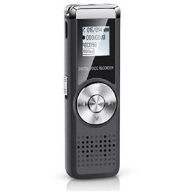 Shnvir ボイスレコーダー16 GB ICレコーダー デジタルボイスレコーダー 録音機 ボイスレコーダー 小型高音質 小型ICレコーダー、ペン型