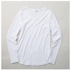 人気のため新色追加!!トールサイズ 綿100%VネックTシャツ 【高身長・長身】Tシャツ・カットソー