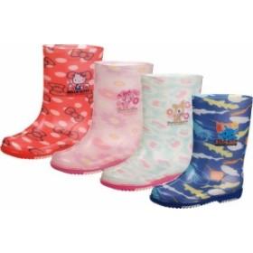 (B倉庫)アサヒ サンリオ R283 S/R R283 子供長靴 レインシューズ キッズ ハローキティ ボンボンリボン ハミングミント シンカイゾク