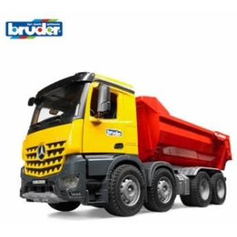 bruder ブルーダー MB Arocs ハーフパイプダンプトラック BR03623(乗り物おもちゃ 働く車 おもちゃ 知育玩具 男の子)