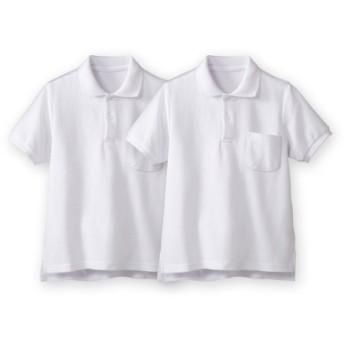 半袖ポロシャツ2枚組(ポケットあり) 制服