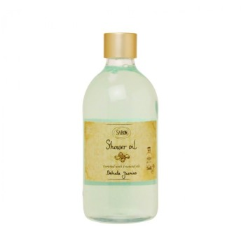 サボン SABON シャワーオイル #デリケートジャスミン (ペットボトル)500ml (シャワーオイル)