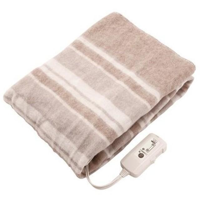 コイズミ 電気敷毛布 KDS-5088T 丸洗い ダニ退治 抗菌防臭