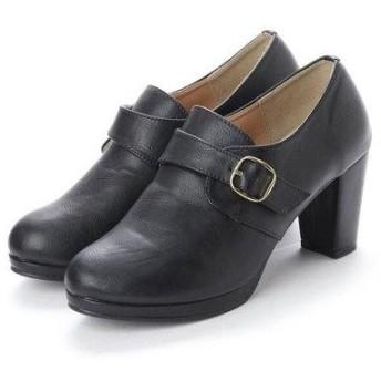 ドレスキップ DRESKIP ベルト付きショートブーツ (ブラック)